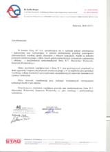 List referencyjny od firmy AC