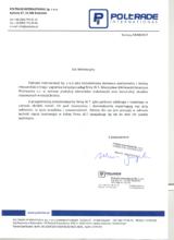 List referencyjny POLTRADE